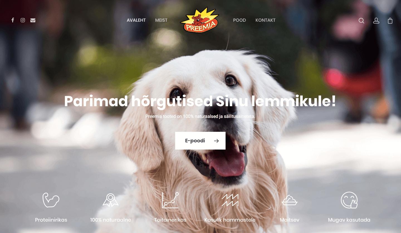 PREEMIA – naturaalsed lemmikloomahõrgutised