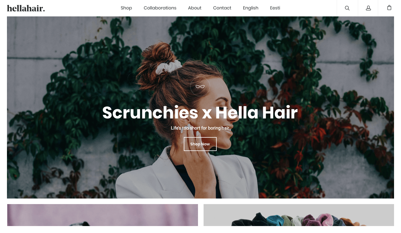 HELLAHAIR – ilutoodete veebikaubamaja